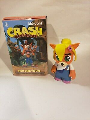 KIDROBOT Crash Bandicoot Mini Vinyl Figure UKA UKA BN
