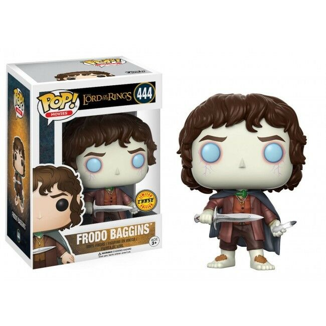 FUNKO POP VINYL FIGURINE LORD OF THE ANNEAUX FRODON CHASE LA 444 NEW