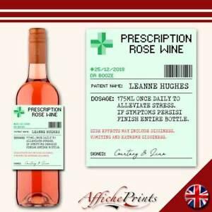 L129-Personalised-Prescription-Medicine-Rose-Wine-Custom-Bottle-Label-Gift