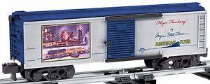 2010-discontinued-LIONEL-48389-american-flyer-S-Boxcar-ANGELA-TROTTA-new-in-box