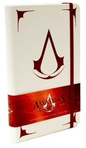 Quaderno Assassin/'s Creed Hardcover Ruled Journal Logo Insight Collectibles