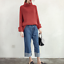 thumbnail 9 - Women-039-s-Knitwear-Turtleneck-Sweater-Loose-Long-Sleeve-Pullover-Jumper-Baggy-Tops