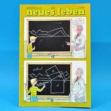 DDR Neues Leben 6/1986 NVA Sporett Jennifer Rush Ampler Yoko Ono Prinzz Zypern E
