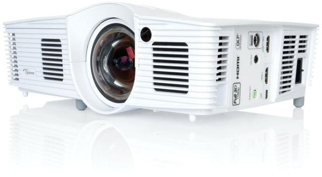 Optoma GT1080E DLP Full HD 1080p Short throw Home Cinema Gaming Projector