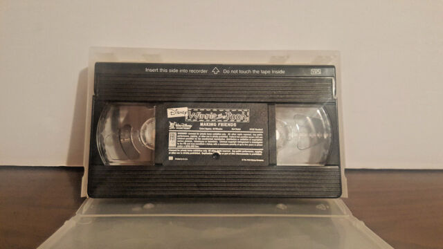 Winnie the Pooh - Pooh Learning - Making Friends (VHS, 1994) VHS & case