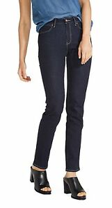 Wrangler-High-Rise-Slim-Ulta-Flex-Stretch-Jeans-Womens-Ladies-Rinsewash-Denim