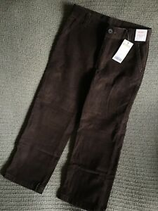 552fbcd19 Image is loading NWT-Gymboree-Brown-Corduroy-Thanksgiving-Fall-Holiday-Pants -