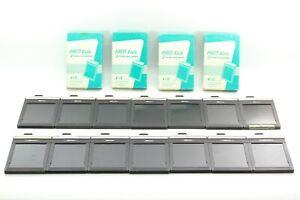 EXC-5-Lot-of-14-Fidelity-Elite-4x5-Cut-Film-Holder-Back-Box-From-JAPAN-477