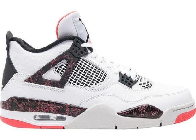 meet 81956 c7325 Air Jordan 4 Retro Flight Nostalgia Mens 308497-116 Pale Citron Shoes Size  11