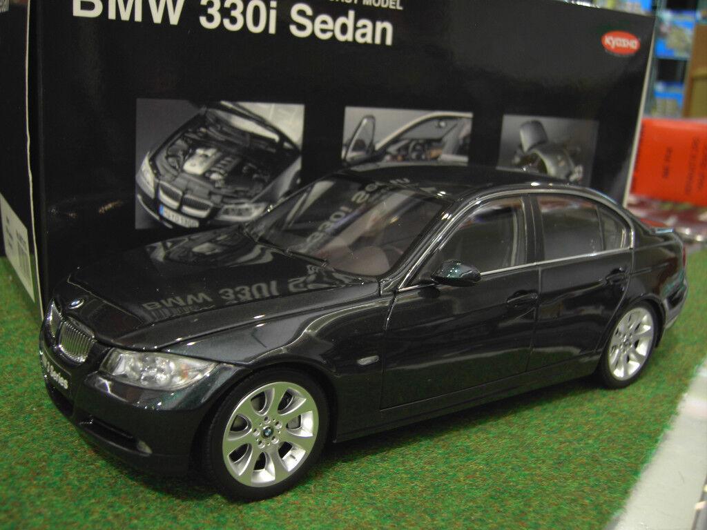 BMW  330i SEDAN verde verde 1 18 de KYOSHO 08731G voiture miniature de collection