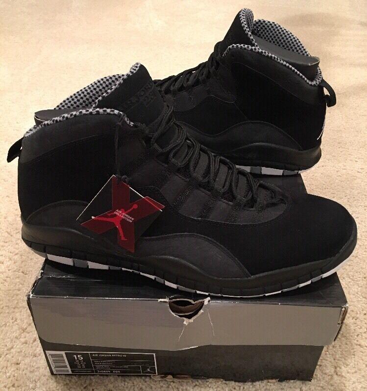 Nike Retro Air Jordan Retro Nike 10 x Stealth Negro Blanco comodo precio de temporada corta, beneficios de descuentos 469c1d
