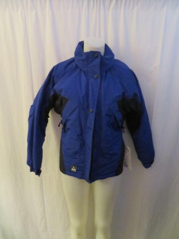 Capable Womens Gerry Blue/black Ski Jacket Sz Xs *