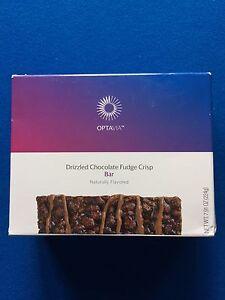 Medifast-Optavia-Drizzled-Chocolate-Fudge-Crisp-Bar-7-Bars-Fresh-FREE-SHIPPING