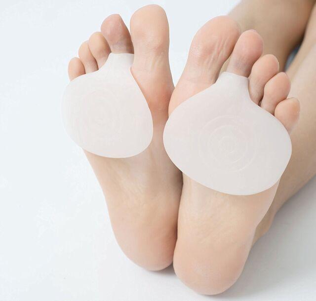 hard skin on balls of feet