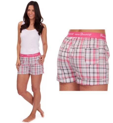 Donna Casual Shorts in tessuto vacanze estive da spiaggia da indossare