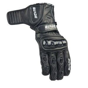 Blade-Leather-Motorcycle-Gloves-Motorbike-Waterproof-Thermal-Winter-Summer