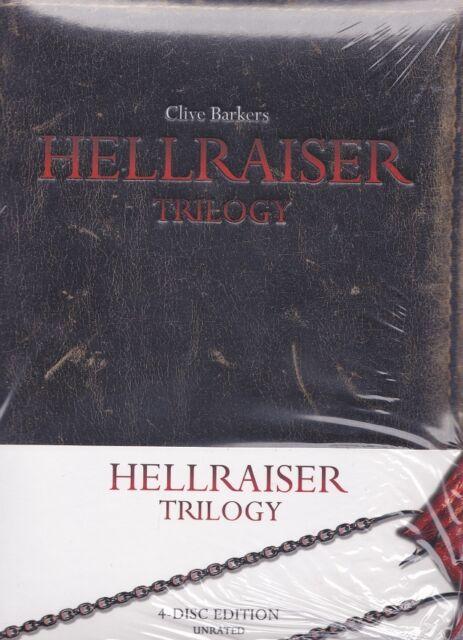 Hellraiser Trilogy (Mediabook, BluRay, Unrated, 4 Discs) Neu & OVP, FSK 18,