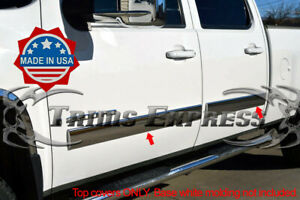 2007-2008-Silverado-Crew-Cab-Body-Side-Molding-Overlay-4-1-4-034-Trim-Cover