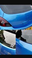 Efecto de cristal de limpiaparabrisas Brillo Negro Tapón eliminar Ojal Vauxhall Corsa C D E VXR