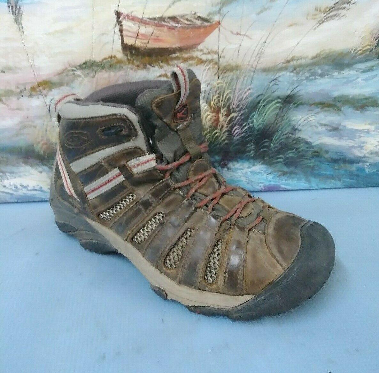 Keen Voyageur Mid Hiking Stiefel herren 8.5 braun hunting Draußen 1257