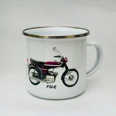 YAMAHA FS1E  MOTORBIKE MOPED POPSICLE PURPLE  CERAMIC MUG 1972-1977