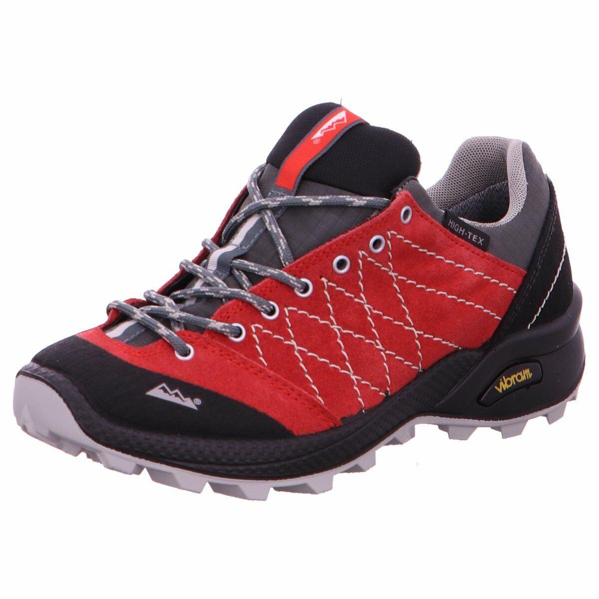 HIGH COLORADO Damen Sportschuhe Crest Trail Schnürschuh 1020819 rot 653234