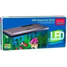 Aqua Culture LED Hood 10 Gallon Fish Tank Aquarium Lid Top Integrated Cutouts