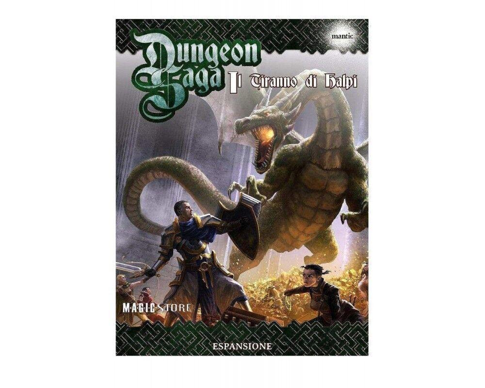 Dungeon Saga - Il Tiranno di  Halpi NUOVO ITALIANO Spedizione 24h   vendita outlet