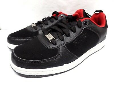 AND1 Size 13-6  Youth Boys PREMIUM Black//Red Athletic Basketball Shoes