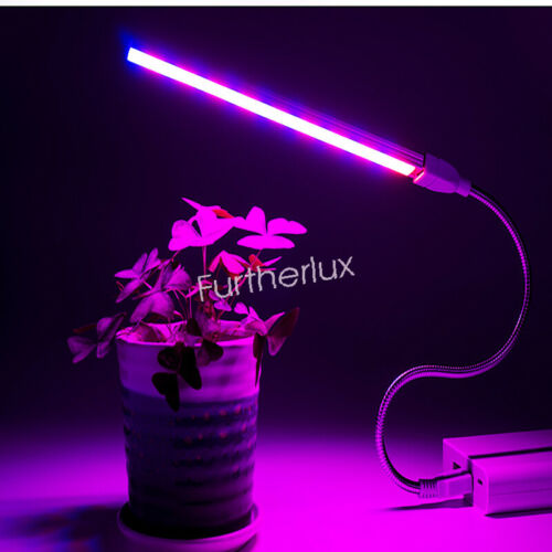 USB Power LED Grow Light Flower Indoor Greenhouse Hydroponic Lamp Gardening Mini
