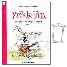 ☑ Fridolin Band 1 - Gitarrenschule mit NotenKlammer - N2020 - 9783938202029