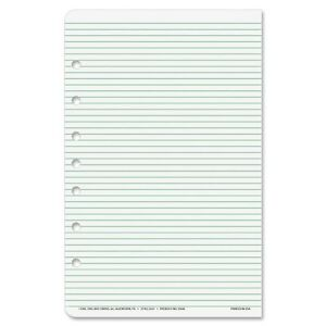 Day-timer Desk Size Multipurpose Lined Page - 48 Sheet - Narrow Ruled - (87228)