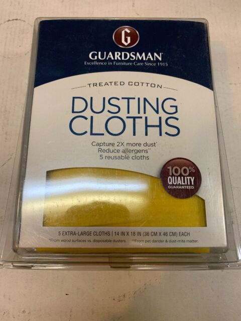 Guardsman 462500 Ultimate Cotton Dusting Cloth 12 Pack For
