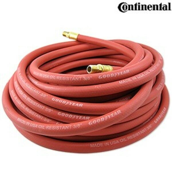 Good Year 3 8  x 50' Red Rubber Hose Air Tool Compressor