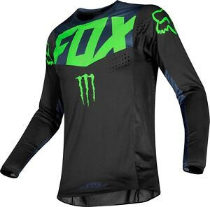 Fox Racing 360 Pro Circuit Monster Energy Jersey MX ATV MTB Riding ... af082f622