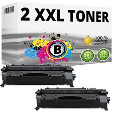 2x XXL TONER  für HP LaserJet Pro 400 M401N M401D M401DN M401DNE  80X CF280X