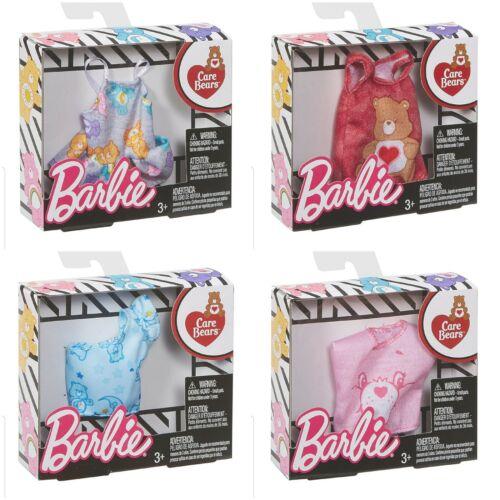 MATTEL Barbie Doll/'s Care Bear Fashion Clothing Shirt Lot Set of 4 New Free Ship