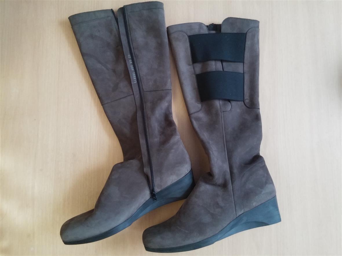 Damen Schuhe Stiefel ARCHE ARCHE ARCHE Gr 42 braun schwarz Leder Top 13fd7f