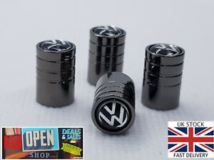 Volkswagen Pneu Valve Caps Dust Caps X4 Meilleure Qualité Cuivre 2019 Nouveau Modèle-afficher Le Titre D'origine Soyez Amical Lors De L'Utilisation