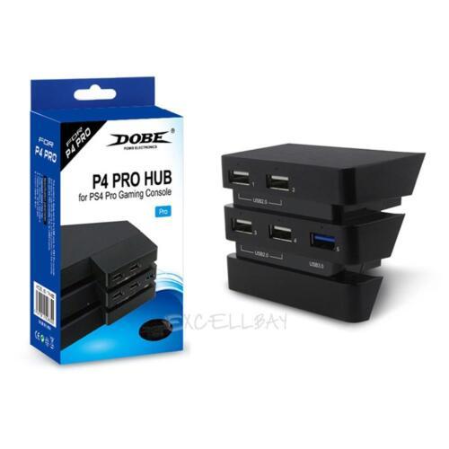 5in1 USB 2.0//3.0 HUB Port Extender Splitter Adapter Converter For PS4Pro Console