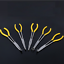 5X 11/'/' Long Reach Nose Pliers Set Straight Bent Tip Hose Gripper Repair Tool AU