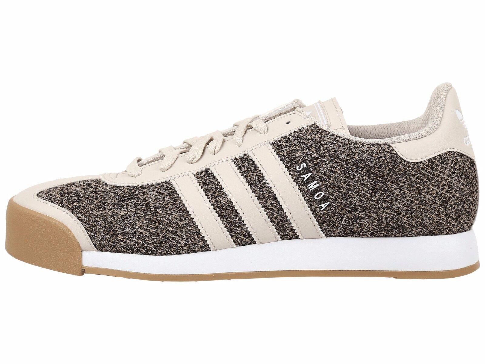 9 NEW Clear adidas Originals Samoa Textile Clear NEW Brown Gum White BB8599 superstar 678751