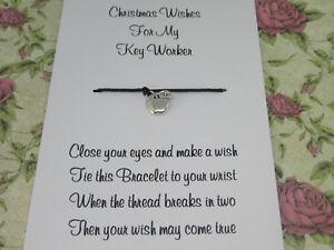 Key-Worker-Christmas-Wishes-Wish-Bracelet-Gift-Tibetan-Apple-Charm-Anklet