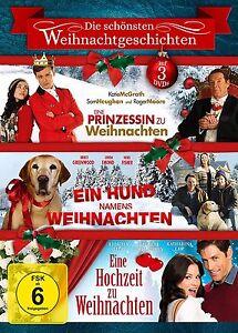 Eine Prinzessin Zu Weihnachten.Details Zu Die Schonsten Weihnachtsgeschichten Ein Prinzessin Zu Weihnachten U A 3 Dvd
