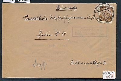 91037) DR > DDR Landpost Ra2 Gethles über Schleusingen, DS 1935