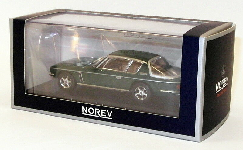 Norev 1 43 Scale Modell voiture 270250 - 1976 Jensen Interceptor - Dark Grün