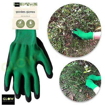 Guanti Da Giardinaggio Giardino Resistente Sfoltimento Che Trasportano Di Lavoro In Gomma Grip Coppia Unisex- Delizioso Nel Gusto