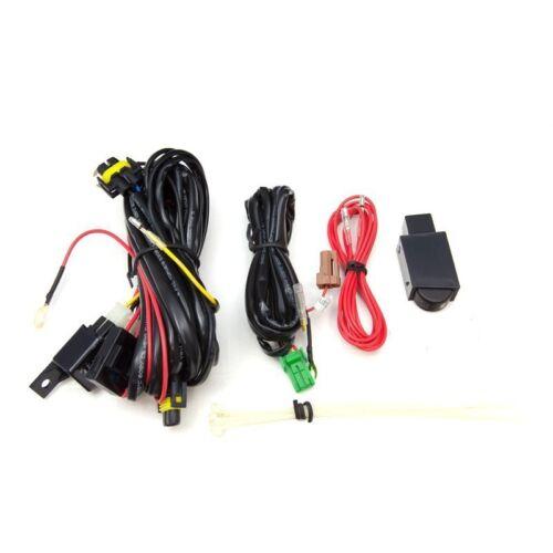 12-14 Impreza 15-16 WRX Fog Lights w//Wiring Kit /& HID Conversion Kit Yellow