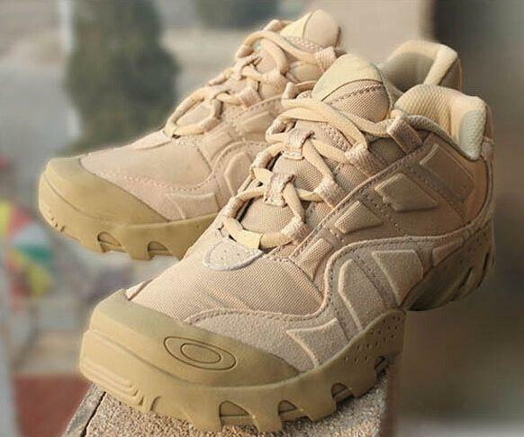 Military Uomo Lace Ups Forces Army Ankle Stivali Tactical Non-slip Combat Shoes sz