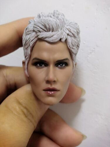 """1//6 Head Sculpt Carving Model Ororo Munroe Storm Figure for 12/"""" Female Doll Body"""